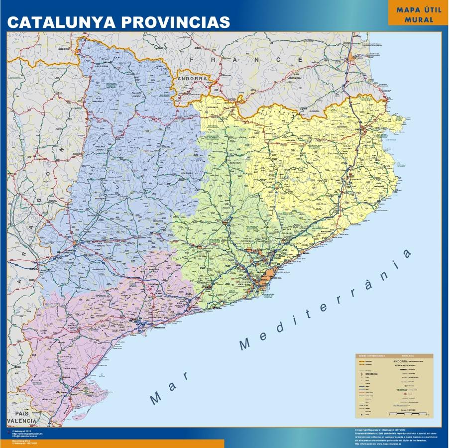 catalunya provincias