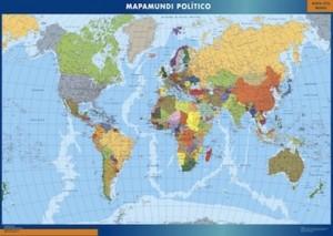 mapamundi pared