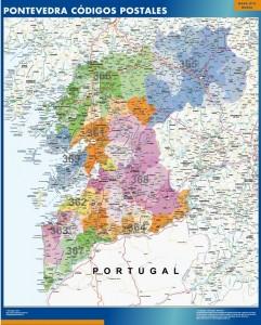 Pontevedra provincia Codigos postales