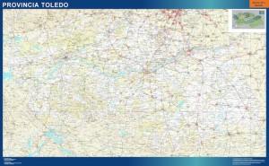 mapa carreteras Toledo