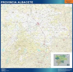 Albacete mapa carreteras