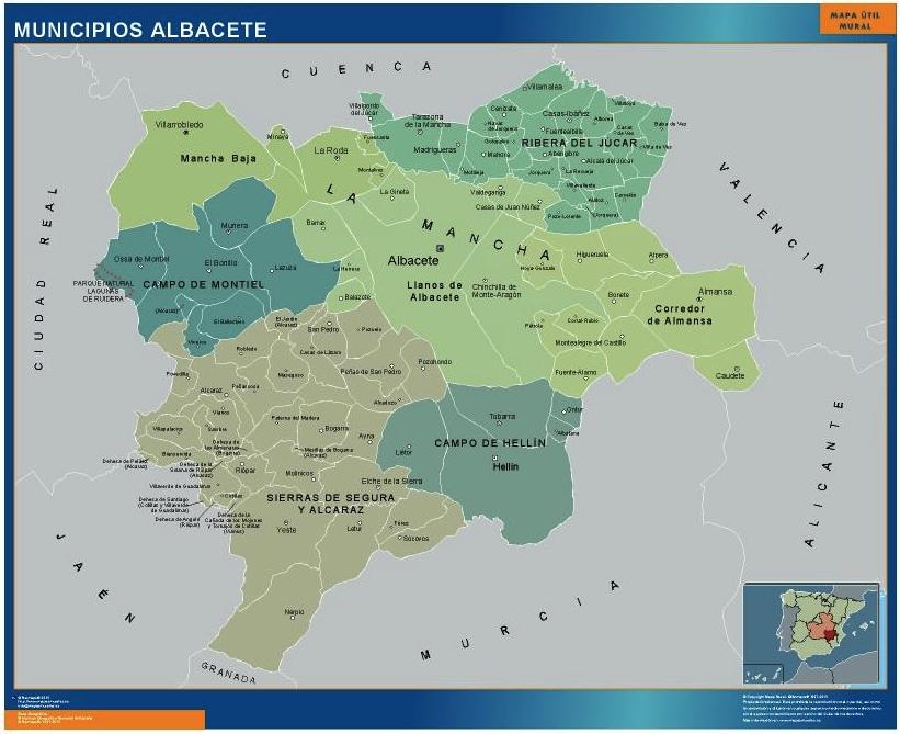 albacete municipios