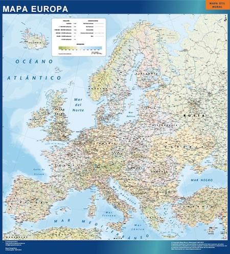 Mapa imantados Europa Politico