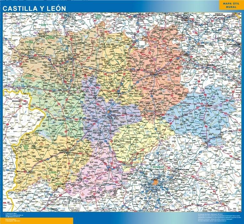 Mapas mapa castilla y leon Castilla y León