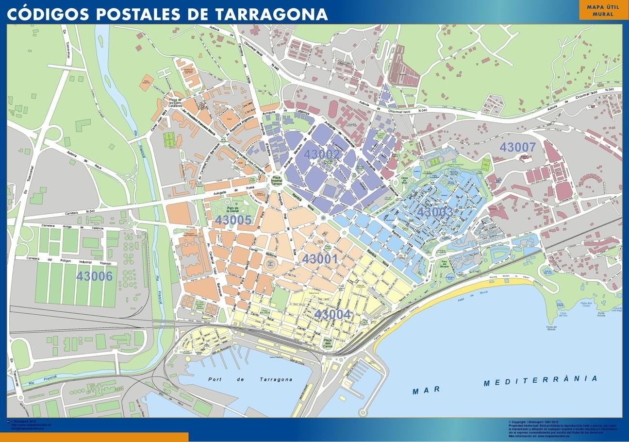 Mapa codigo postal barcelona my blog for Codigos postales madrid capital