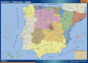 espana mapa autonomias