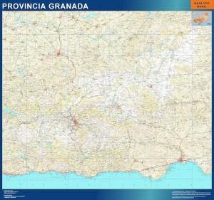 granada mapa carreteras