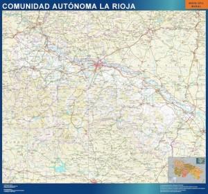 mapa carreteras la rioja