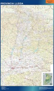 lleida mapa carreteras