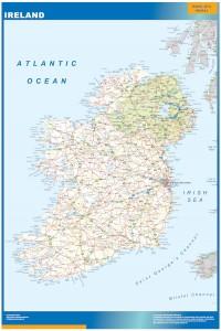 mapa irlanda