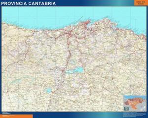 mapa provincia cantabria