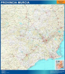 murcia mapa carreteras