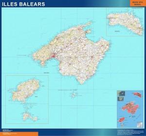 mapa Illes Balears