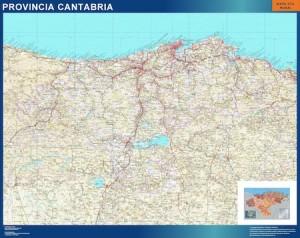 mapa cantabria