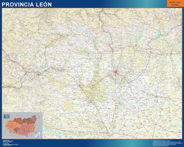 Mapa Provincia Leon
