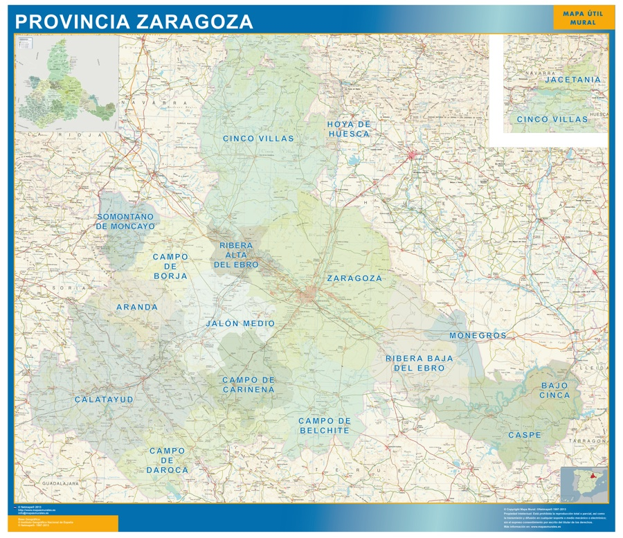 Zaragoza comarcas
