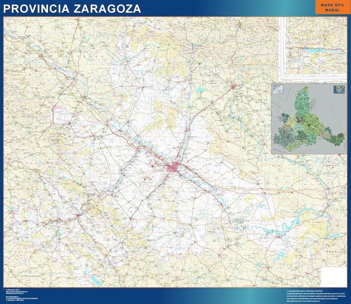 Zaragoza ign Zaragoza mapas