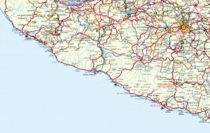 mapa mexico carretero