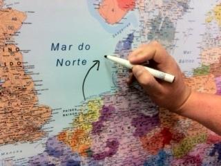 mapa para pintar
