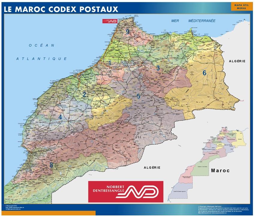Maroc Codes Postaux