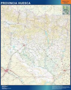 Mapa Mural Huesca