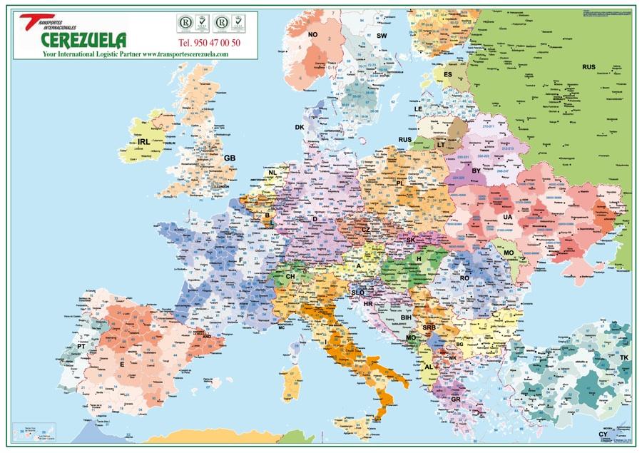 Sobremesa Mapas