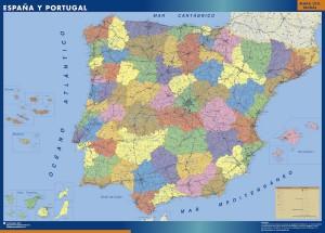 Mapa espana provinciasl gigante
