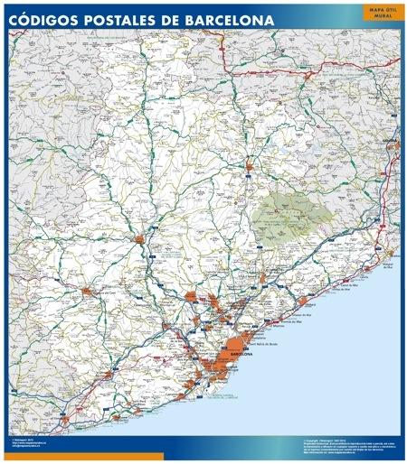 Provincia Barcelona España Barcelona Provincia Codigos