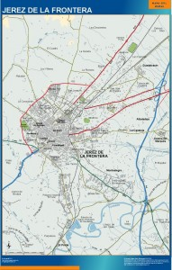 mapa Jerez accesos
