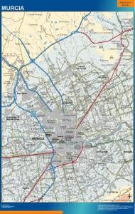 mapa Murcia accesos