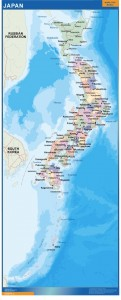 mapa japon