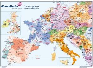 Mapa Europa escritorio
