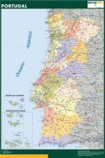 Mapa Portugal. Laboratorios Investigación