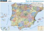 Mapa España. Empresa Comercial