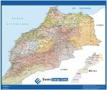 Mapa Carreteras Marruecos