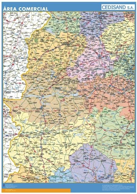 mapa area espana