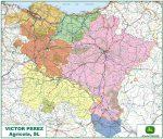 Mapa Distribución España. Maquinaria