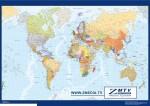 Mapa Mundo Ingles. Televisión
