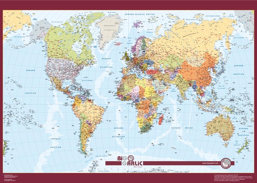 mapamundi espanol