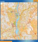 Mapa El Cairo