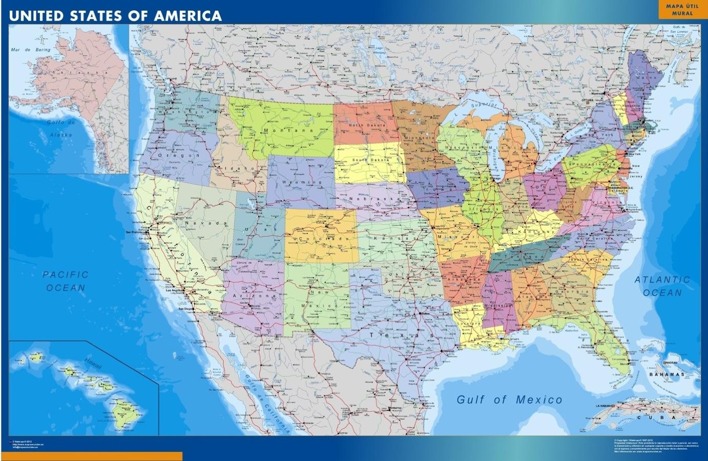 mapa magnetico estados unidos