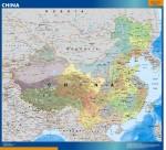 Mapa China Veleda