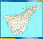 Mapa Tenerife