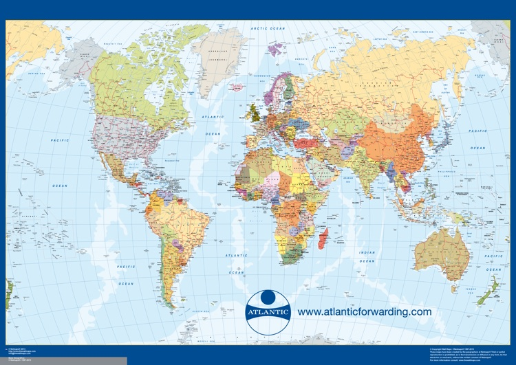 mapamundi personalizado