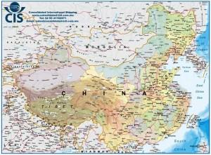 puertos china