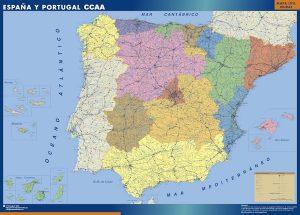 mapa espana autonomias