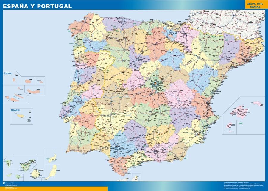mapa magnetico espana