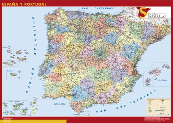 Mapa España personalizado