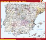 Mapa Vinos España