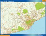 Mapa Barcelona Gran Área